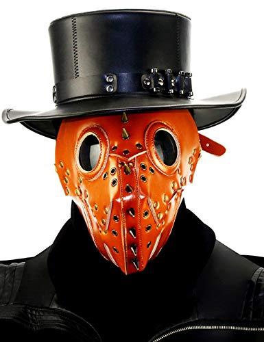 Arzt Dämon Kostüm - TUTOU Horror Halloween, Steampunk Cosplay Scary Pest Arzt Dämon Monster Maske Kostüm Make-up Party Requisiten