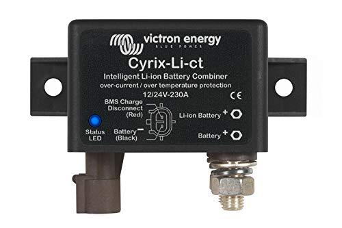 VICTRON ENERGY Combineur Intelligent de Batterie Li-ION Cyrix-Li-CT 12 / 24V-230A - CYR010230412