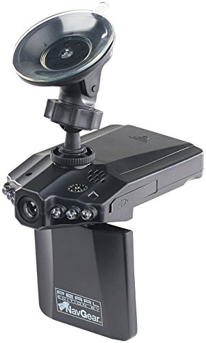 NavGear Cockpit Kamera: Auto-DVR-Kamera MDV-2250.IR mit LCD-Display & Bewegungserkennung (Dashcams)