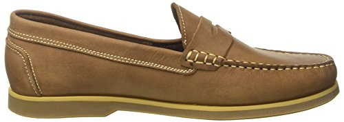 Lumberjack Navigator Sm07802, Mocassins (loafers) homme Marrone (Brown/Tan)