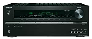 ONKYO TX-NR509B 2011 Model 5.1 Networking AV Receiver (3D Ready, iPod/iPhone Ready USB Port)