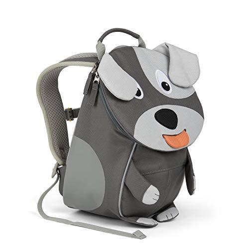 Affenzahn Kinder-Rucksack mit Brustgurt Hugo Hund für 1-3 Jährige Jungen und Mädchen im Kindergarten oder Kita der Kleine Freund