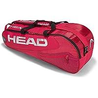 Head Elite 6R Combi–Bolsa para Raquetas de Tenis, Color Red/Red, tamaño n/a