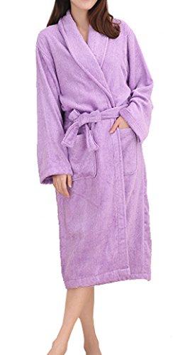 Sweetmaker Damen Bademantel XX-Large Violett
