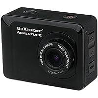 GoXtreme 20117 Adventure HD Action-Kamera mit Wasserdichtem (5 cm (2 Zoll) Display, 720p, 1,3 Megapixel, CMOS-Sensor, microSD Kartenslot, USB, Li-Ion Akku) schwarz