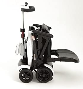 Genie+ Electric Folding Mobility Scooter Travel Car Boot Scooter 4 Wheels