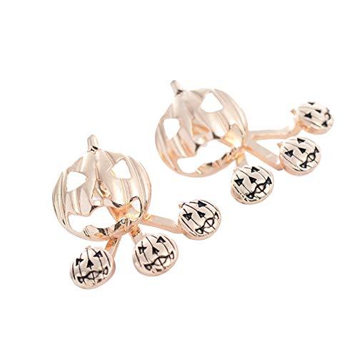TREESTAR Ohrringe Anhänger Teufel Zubehör Halloween Ohrringe Damen Ohrringe Halloween Party Gold