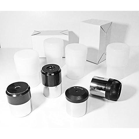 4pieza estándar telescopio ocular 1,25pulgadas Set ~ 4X piezas de ojos lente 4mm, 6mm, 12mm y