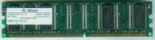 Pc-256 Mb Speicher (INFINEON 32Mx64 SDRAM HYS64D32000GU-7-B 256MB [Arbeitsspeicher, RAM ])