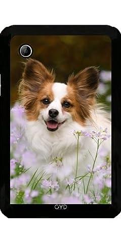 Hülle für Samsung Galaxy Tab 2 P3100 - Papillon Hund Niedlich Porträt by Katho Menden
