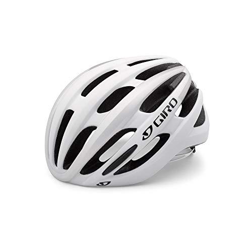 Giro Erwachsene Foray MIPS Fahrradhelm, Matte White/Silver, M