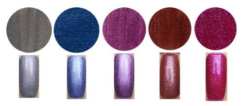 Gel Polish Bold & Beautiful Lot de 5 vernis à ongles professionnels en gel UV