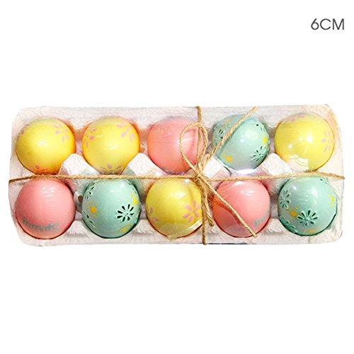 QINPIN Ostern bläst Eier Macarons Eier