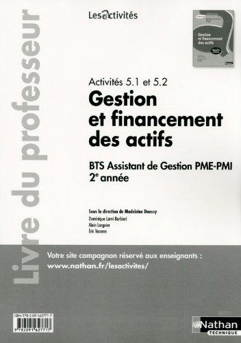 Gestion et financement des actifs par Dominique Lami-Barbieri, Eric TACCONE
