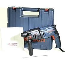 Bosch GBH 2-20 D Professional - Martillo perforador (SDS-plus, empuñadura adicional, tope de profundidad 210 mm, maletín, 650 W)