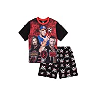 Boys WWE World Wrestling Entertainment Short Pyjamas