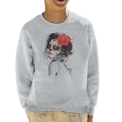 Cloud City 7 Dia De Los Muertos Day of The Dead Kid's Sweatshirt