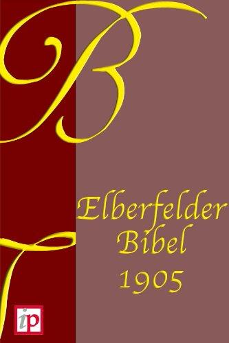 Elberfelder Bibel - Für eBook-Lesegeräte optimiert