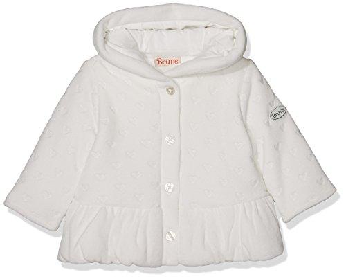 Brums Baby-Mädchen Cape 173BCAA001 Bianco (Off White), 74 cm