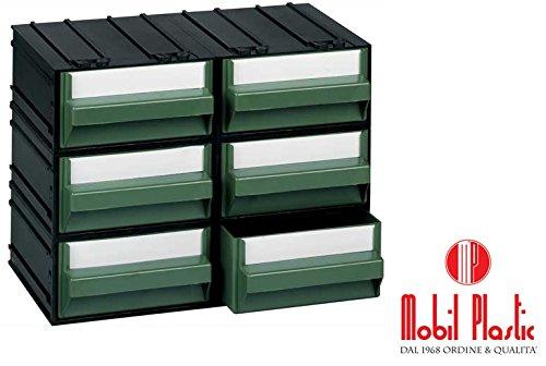 Cassettiere Mobil Plastic.Cassettiere Mobil Plastic C Composte Da 6 Cassetti