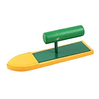DealMux Enlucido Esponja flotador revoque de cemento acabado con llana 22,5 cm x 6,5 cm