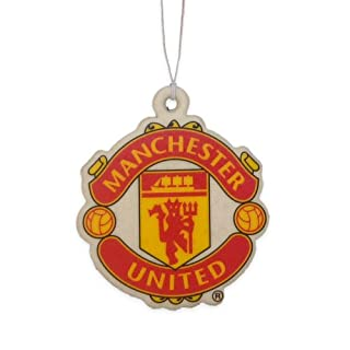 Man Utd FC Football Club In Car Hanging Cardboard 2D Air Freshener Official