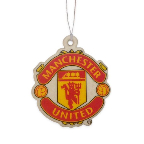 Preisvergleich Produktbild Man Utd FC Football Club In Car Hanging Cardboard 2D Air Freshener Official