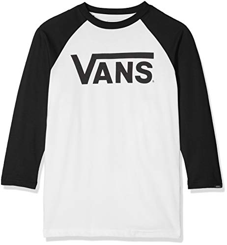 59150be3e7 Vans classic logo logo long sleeve tshirt the best Amazon price in ...