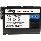ENEL15 - Batterie Li-ion type NIKON EN-EL15 haute capacité pour NIKON D7000 / D7100 / D7200 / D800 / D800E / D810A / D710 / D 750 / D600 / D610 / D500 / NIKON 1 V1
