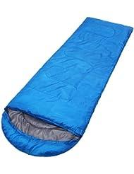 XG Acampando pato al aire libre solo 1000g plegable caliente fácil de llevar 220cm sacos de dormir