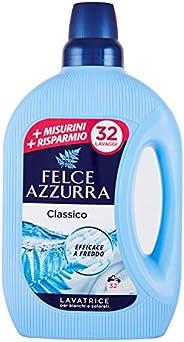 Felce Azzurra - Detersivo Liquido Classico, Profumo Inconfondibile, Efficace a Freddo - 32 Lavaggi - 1595 ml