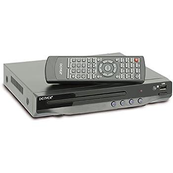 denver 11326010 kompakter dvd player mit usb eingang. Black Bedroom Furniture Sets. Home Design Ideas