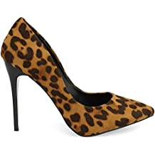 Tipo Stiletto. con Animal Print. Altura de