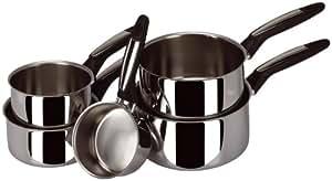 Sitram PMUSTSERIE Série de 5 casseroles Must en inox