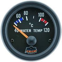 Wassertemperaturanzeige Farbe schwarz