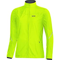 GORE WEAR R3 Femme Partial GORE WINDSTOPPER Veste Veste Femme neon yellow FR: L (Taille Fabricant: 40)