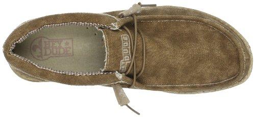 Scarpe uomo, colore Grigio , marca HEY DUDE, modello Scarpe Uomo HEY DUDE 110063005 WALLY Grigio Brown & Beige