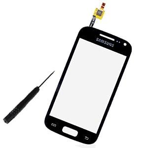 Displayglas / Digitizer für Samsung Galaxy ACE 2 i8160 / GT-i8160 (inkl. Werkzeug zur Demontage) Schwarz