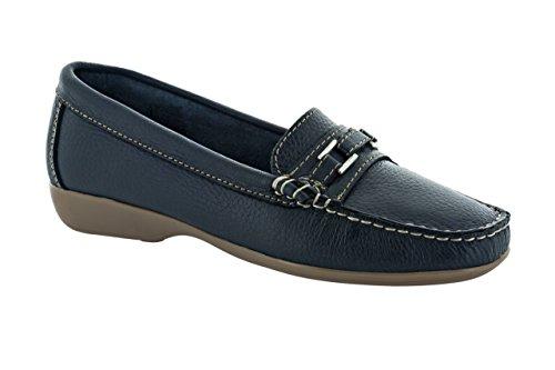 Chaussures de Ville SALMAGODI Femme 68-80053 Bleu Foncé