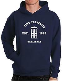 Inspired Doctor Time Travel Gallifrey Gift Idea Men's Hoodie
