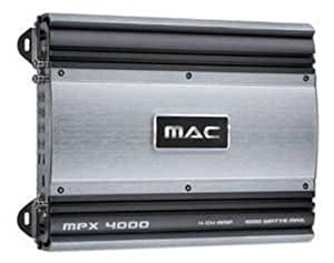 mac audio mpx 4000 amplificateur auto import allemagne. Black Bedroom Furniture Sets. Home Design Ideas