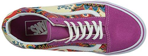 Vans U Old Skool, Baskets mode mixte adulte Multicolore