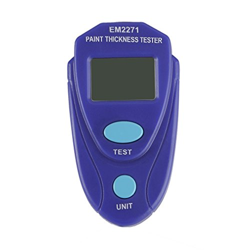 Mini Paint Coating Thickness Gauge for Car, Digital Painting Thickness Tester Meter Mini LCD Car Coating Thickness Gauge