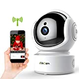 Baby Monitor Camera,KinCam Wireless Camera 1080P WiFi Security Camera Indoor,Pet IP Camera,Surveillance Nanny Camera with IR Night Vision,Motion Detection&Sound Detection,2-Way Talking,Pan/Tilt