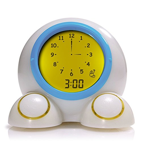 Onaroo Teach Me Time Nightlight with Sleep Trainer and Time Teaching Clock