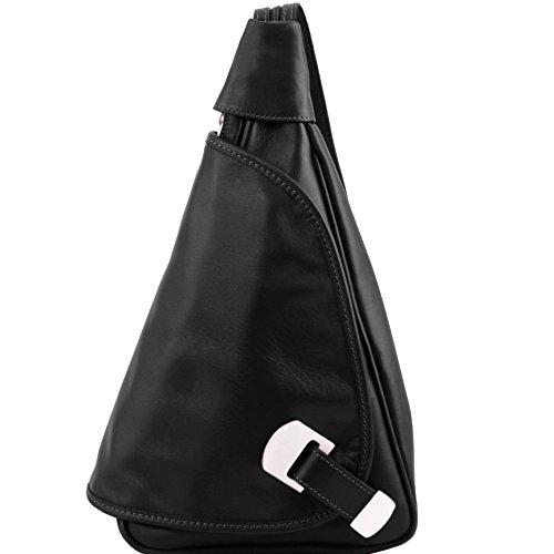 81409664 - TUSCANY LEATHER: HANOI - Sac à dos en cuir, noir