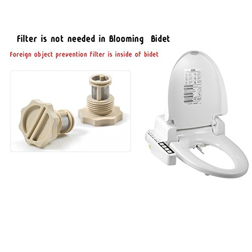 Blooming Icon-160NS Toilet Bidet Toilet Seat 220V Dry Function Added Easy Installation Soft Closing