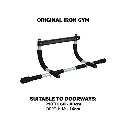 Iron-Gym-Unisexs-Original-Total-Upper-Body-Workout-Bar-Black-Medium