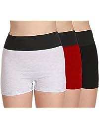 Selfcare Women's Cotton Tummy Tucker Boyshort Shaper Panties