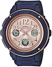 Casio Analog-Digital Rose Gold Dial Women's Watch-BGA-150PG-2B1DR (BX136)